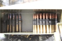 250 Rounds US Military .30 Cal. Linked Ammunition