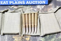 1 Bandoleer .8mm Ammunition in Stripper Clips