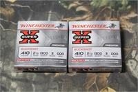 2 Boxes Winchester .410 Shotgun Buckshot Shells