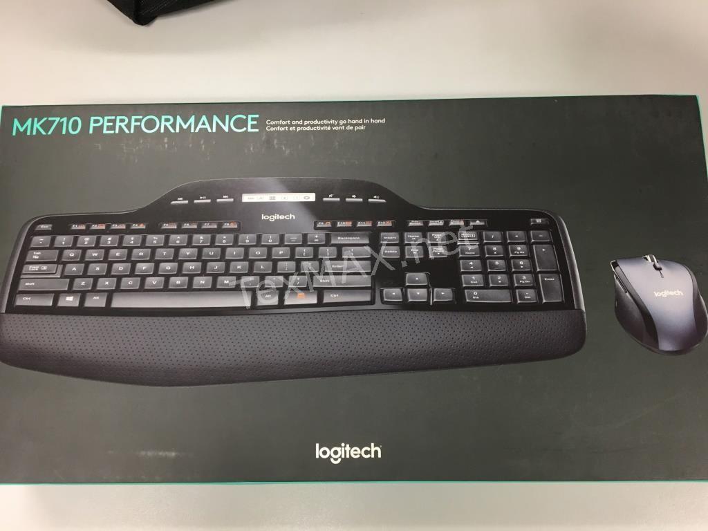 logitech wireless keyboard mk710 drivers