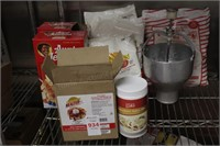 Pancake and waffle mix with accessories