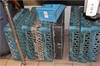 9pc Commercial Dishwasher Racks