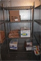 """24x36x72"""" Commercial Wire Rack w/4 Shelves"""