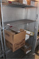 """18x48x72"""" Commercial Wire Rack w/4 Shelves"""