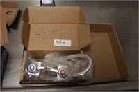 Commercial sink faucet