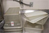 4 pc clear prep tubs
