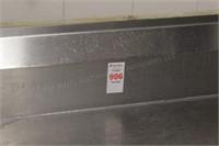 "66x30x36"" Sturdi-Bilt Stainless Counter"