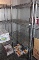 "18x48x72"" Commercial Wire Rack w/4 Shelves"
