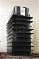 """10 pc 1/3 sizex 4"""" cold food tubs"""