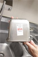 """6 pc stainless 1/6 size x 6"""" chaffing pan"""