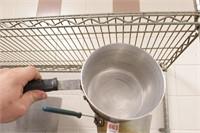 2 pc EST-Ware aluminum 3quart pan with handle