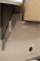 """2 pc 60""""x12"""" stainless shelf"""