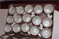 52 pc ITI 12oz ceramic mugs