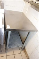 "36x24x34"" stainless table"