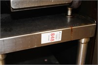 """15x24x22"""" stainless counter/table"""