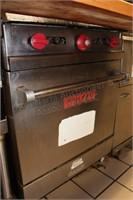 Vulcan 4 burner commercial range