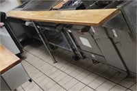 """175"""" commercial stainless hood & fire suppression"""