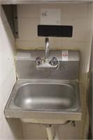 """15x17"""" stainless handwashing sink"""