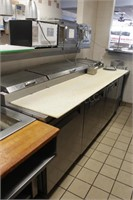 Turbo Air 8' cold top counter