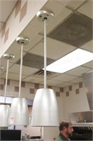 4 pc Merco 600F warming lamps