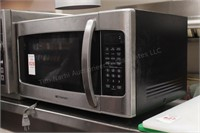 Emerson stainless carousel microwave
