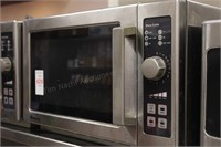 Amana Commercial stainless microwave