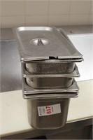 5 pc third deep chaffing pans