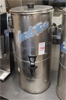 Curtis Streamliner stainless iced tea dispenser