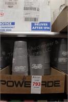 36 pc 16oz clear pepsi cups