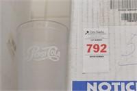 58 pc 16oz clear pepsi cups