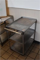 """31x18x33"""" stainless utility cart"""