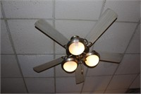 3 pc lighted ceiling fans
