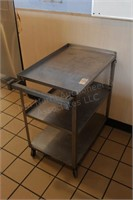 """31x18x32"""" stainless utility cart"""