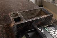 """112.5x26x43"""" granite top bar"""