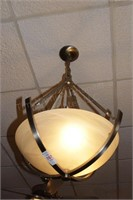 4 pc modern hanging chandelier