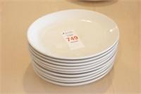 "10 pc ITI 9.5x7.5"" Oval Plates"
