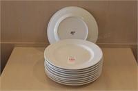 """10 pc ITI 12"""" Dinner Plates"""