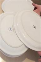 "10 pc Clinton and ITI 13x10"" Oval Plates"