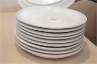 "10 pc Clinton 13x10"" Oval Plates"
