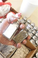 60 pc Salt and Pepper Shakers