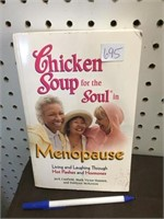 BOOK - CHICKEN SOUP FOR MENOPAUSE SOUL