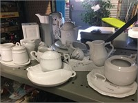 GROUP OF NEW PORCELAIN