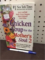 BOOK - CHICKEN SOUP MOTHERS SOUL 2