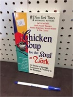 BOOK - CHICKEN SOUP SOUL AT WORK