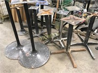 11 Asst Table Bases & 2 Bar Bases
