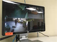 4 Camera Security System w/ 2 Monitors