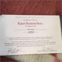 KATIES BEDTIME STORY COLLECTOR DOLL