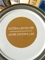 CASE OFCATERPILLAR YELLOW RUST PAINT