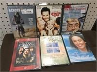 6 DVD MOVIES GROUP