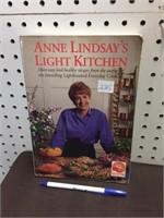 BOOK - ANNE LINDSAY'S LIGHT KITCHEN